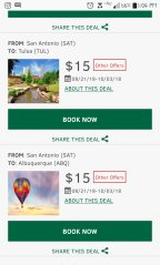 Tuesday Travel Deals